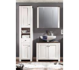 Miroir salle de bain 3 portes CAPRI avec Led