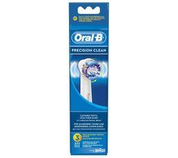 Elles améliorent l'efficacité de votre brossage (par rapport à une brosse à dent manuelle classique). Tout simplement la plus vendue des brossettes de rechange Oral-B. Type : Brossette Garantie : 1 an , Pièces , Main d'oeuvre Conditionnement : x 3 Compati