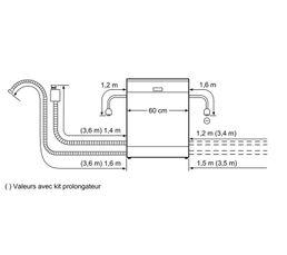 Lave-vaisselle intégrable BOSCH SMI50D35EU