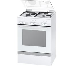 Cuisinière mixte BOSCH HGD72D220F Blanc
