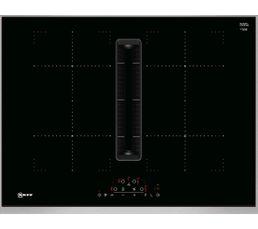 Table induction aspirante NEFF T47TD7BN2 4 foyers Noir