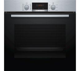 Nombre de fonctions de cuisson : 7 TYPO Classe A Cuisson preprogrammee : oui Volume (L) / Tournebroche : 71 / non Mode de nettoyage : pyrolyse Porte froide : oui Securite enfant : oui Dimensions en cm : L.59,4 - H.59,5 - P.54,8 Dimensions d'encastrement e