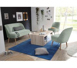 canap scandinave 2 places tissu vert d 39 eau pino canap s but. Black Bedroom Furniture Sets. Home Design Ideas