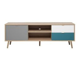 meuble tv scandinave pas cher. Black Bedroom Furniture Sets. Home Design Ideas