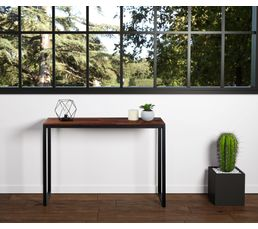 console industrielle fabrikk bois massif tables d 39 appoint et consoles but. Black Bedroom Furniture Sets. Home Design Ideas