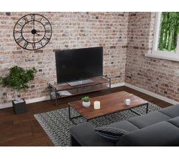 Meuble Tv Industriel Fabrikk Bois Massif Meubles Tv But