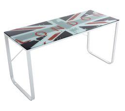 plaque en verre pour bureau fabulous bureau plateau en verre with plaque en verre pour bureau. Black Bedroom Furniture Sets. Home Design Ideas
