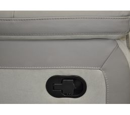 Angle 2 relax WELTON Cuir Taupe/micro.gris clair