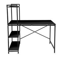 Bureau But Noir : bureau avec tag re book up 2 noir bureaux but ~ Teatrodelosmanantiales.com Idées de Décoration