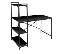 BOOK UP 2 Bureau avec étagère Noir