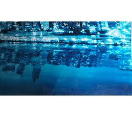 Plateau verre BUILDING L 80 cm