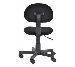 Chaise dactylo AXEL Noir