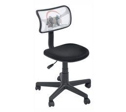 Profitez d'une chaise de bureau simple, à accorder avec les plateaux tréteaux Doggy sur le même décor. Dispo pcs détachées donnée fournisseur : . Piètement : nylon. Structure : multiplis. Garantie : 2 ans , Pièces Garnissage : mousse polyuréthane. Densité
