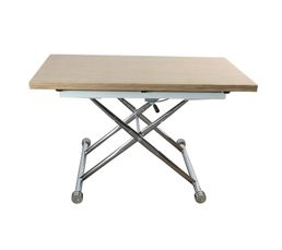 Table up & down extensible LILIAN Chêne