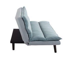 Banquette-lit JADE Tissu Bleu