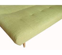 Banquette-lit DELPHINE Tissu vert