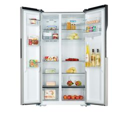 Réfrigérateur américain SIGNATURE SRUS5000XAQUA Inox
