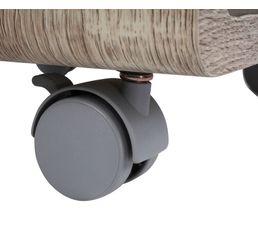 Chevet PRIMO imitation chêne clair