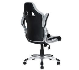 Fauteuil de bureau Gamer DUO Noir et gris