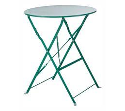 TROPICAL Table pliable Verte