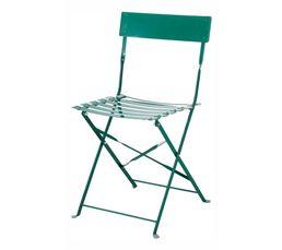 Chaise pliante TROPICAL Verte