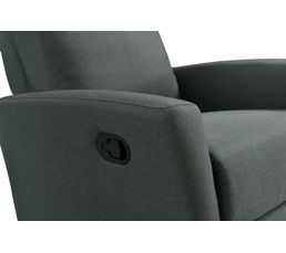 Fauteuil relax MOTION II Tissu Gris