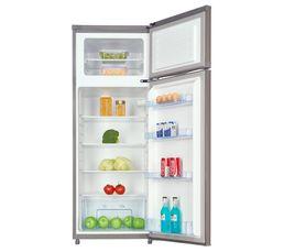 AYA Réfrigérateur 2 portes AFD2002A+X inox