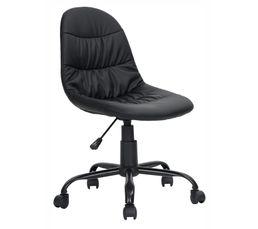 Lounge Chaise dactylo Noir