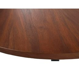 Table basse ronde Ø50 FANNY Noyer