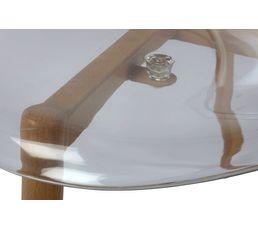 Chaise LYNETTE Transparente