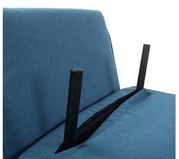 Fauteuil-lit SAM Tissu Bleu