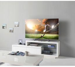Meuble Tv Samson 2 Blanc Meubles Tv But # Meuble Tv Blanc Laque Max Accueil