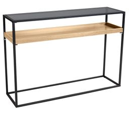 Console pas cher for Table etroite extensible