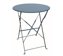 TROPICAL Table pliable Bleu