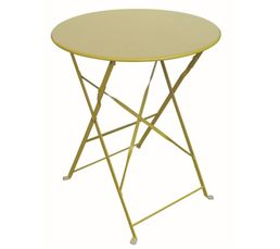 TROPICAL Table pliable Jaune