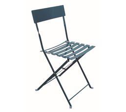 chaise pliante tropical bleu chaises but. Black Bedroom Furniture Sets. Home Design Ideas