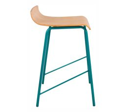 Tabouret de bar MOVE Bleu