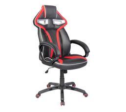 Fauteuil de bureau Prime 2 Noir et rouge