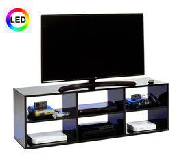 Meuble TV LED GAMER Noir