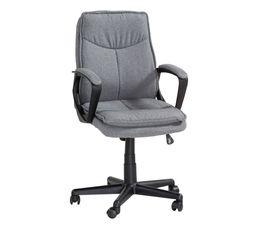fauteuil de bureau topper gris chaises et fauteuils but. Black Bedroom Furniture Sets. Home Design Ideas