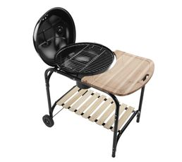 Barbecue charbon SIGNATURE BK22 5TC CHARLY Sur Pieds