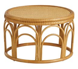 Table basse ronde MALAGA naturel