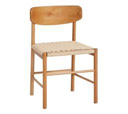 chaise NASTASIA corde trésée