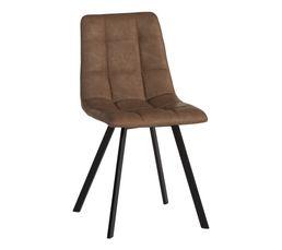 chaise polyuréthane SAVINA taupe