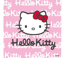 HELLO KITTY Toile 40X40 Rose