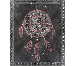 DREAM CATCHER Toile 40x50 cm Gris