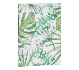 Toile 70x50 cm PRAIRIE Vert / Blanc