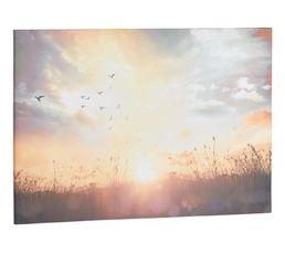 Toile 100X70 SUNSET Multicolore