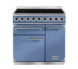 Piano de cuisson FALCON F900DXEICA/N Induc 90 bleu
