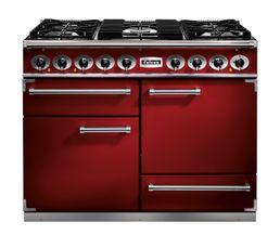 Piano de cuisson FALCON F1092DXDFRD/NM Mixte rouge